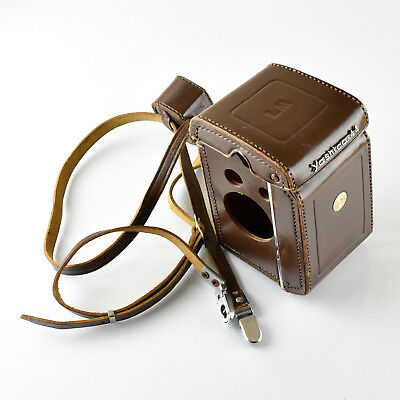 Yashica 44 LM Case and Strap