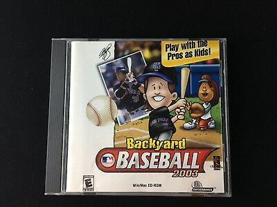 Backyard Soccer Pc Cd Computer Game Disc Only Junior Sports Kids