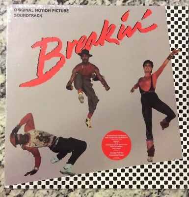 NEW - Sealed Breakin' Original Motion Picture Soundtrack + Bonus! And FREE SHIP!