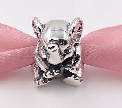Brand New Genuine Authentic S/Silver Pandora LUCKY ELEPHANT Charm bead - 791902