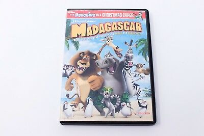 Madagascar (DVD, Full Screen Edition) with The Penguins in a Christmas Caper