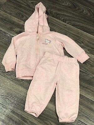 Outfits & Sets 2 Piece Set Carters Outfit 6 Months Baby Girl Pink Brown Pants Long Sleeve Guc!