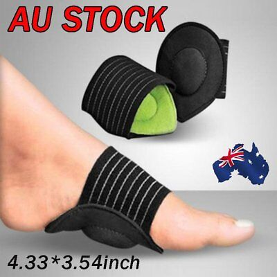 Foot Heel Pain Relief Plantar Fasciitis Insole Pads & Arch Support Shoes LA