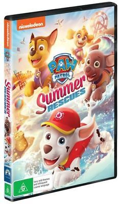 Paw Patrol - Summer Rescues (DVD, 2019) (Region 4) New Release