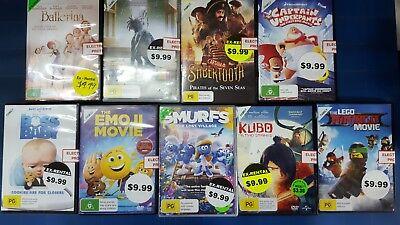 Quality Ex-Rental DVD's Assorted Kids/Family Titles