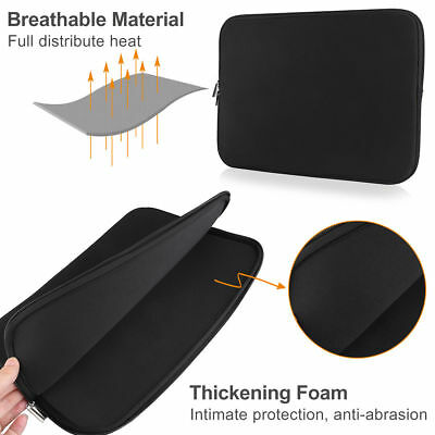 Laptop Case Bag Soft Cover Sleeve Pouch For 13''  Macbook Pro Notebook