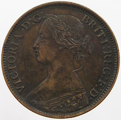 GREAT BRITAIN FARTHING 1860   #pc 257