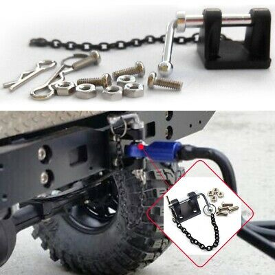 Metal Tow Shackle Trailer Hook Set For 1:10 RC TRAXXAS D90 SCX10 Rock Crawler