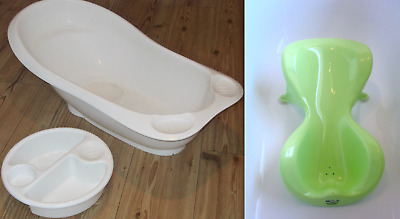 Ja Goo Baby Bath Support + Portable Baby Bath + Top n Tail' Bowl - FREE Postage