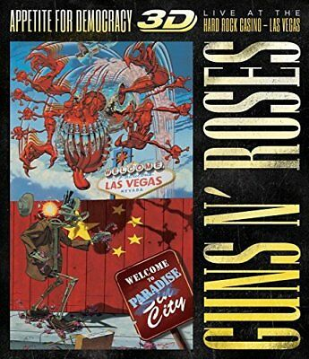 Guns N' Roses Appetite For Democracy Live At Hard Rock Casino [Cd+Bluray]Bx15  -
