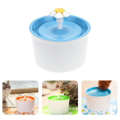 Pet Fountain Automatic Cat Dog Kitten Water Fountain Drinking Bowl Drink Filter