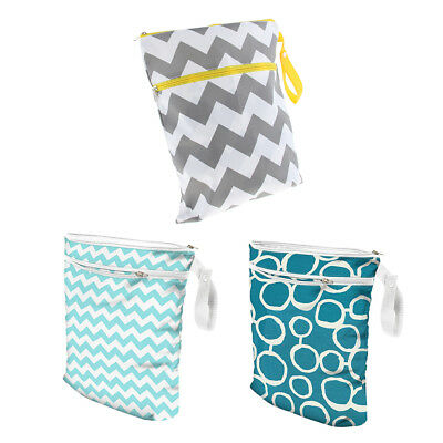 Travel Wet Dry Cloth Diaper Bag Organizer with Handle for Pumping Part, Swimsuit