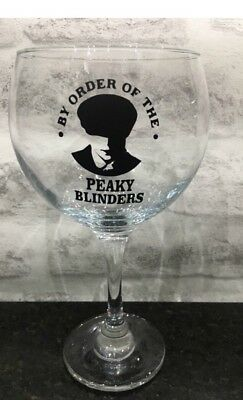 By Order Of The Peaky Blinders Shelby Gin Glass