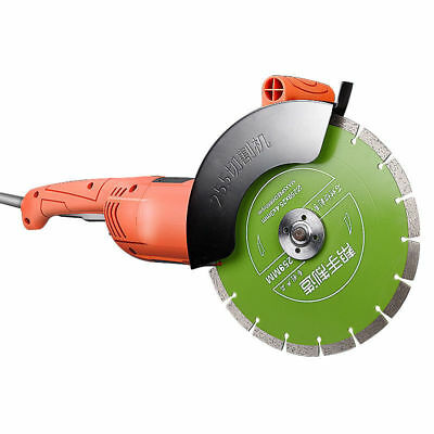 220V Angle Grinder Slotting Grooving Machine Concrete Wall Slotted Stone Cutter