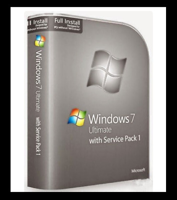 Windows 7 Ultimate Version Complète RETAIL DVD32 ou 64bit 35 langues