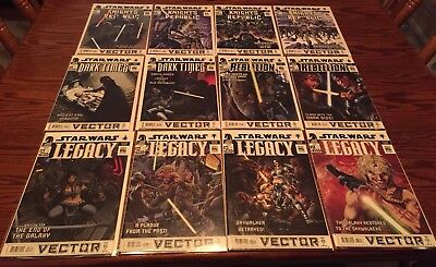 Star Wars Vector 1 - 12 Knights Republic Dark Times Rebellion Legacy