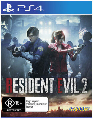 PREORDER - Resident Evil 2  - PlayStation 4 game - BRAND NEW