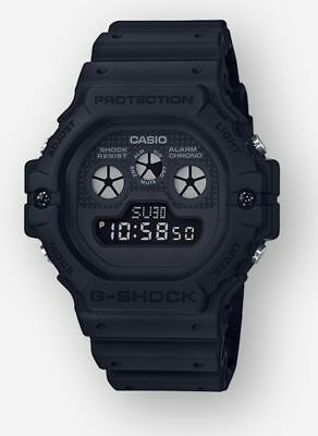 Brand New Casio G-Shock Dw5900Bb-1 Classic Matte Black Retro Digital Mens Watch