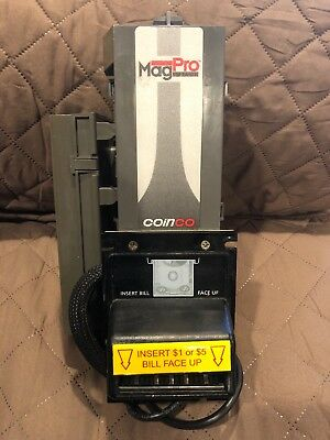 Coinco MAG50B PRO Bill Validator Acceptor New $5 for Changer Vending Not Tested