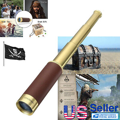 25x30 Zoomable Telesocpes for Adults Astronomy Kids Telescope Spyglass Monocular
