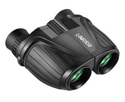 10 X 25 Mini Compact Binocular High Power Low Light Lightweight Adult Binocular