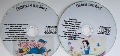 19 Children Stories on 2 CD Classic Children's Story Kids books Audio FREE POST