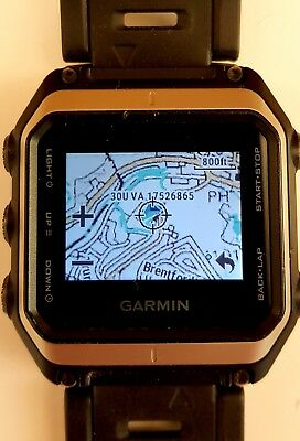 Garmin Epix GPS Nav Watch with GB Discoverer 1:50K  OS + European Maps Preloaded