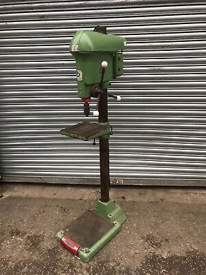 Boxford Union PD4 Floor Standing Pillar Drill Press 3 Phase 4 Speed