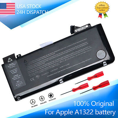 """Genuine A1322 OEM Battery For Macbook Pro 13"""" A1278 Mid 2009/2010/2011/2012 NEW"""