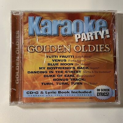 Karaoke Party - Golden Oldies– New Sealed CD 2002 Madacy