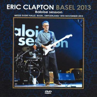 ERIC CLAPTON - BALOISE SESSION, BASEL, SWITZERLAND - november 13, 2013 (DVD)