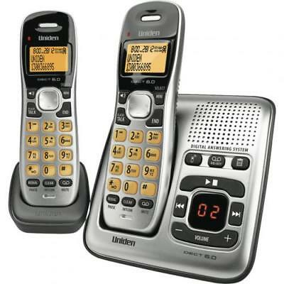 Uniden DECT1735+1 cordless phone Digital Answer Machine, 70 Phonebook Memories w