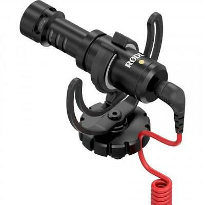 RODE VideoMicro Compact On-Camera Microphone No Battery Required (Plug-In Power)