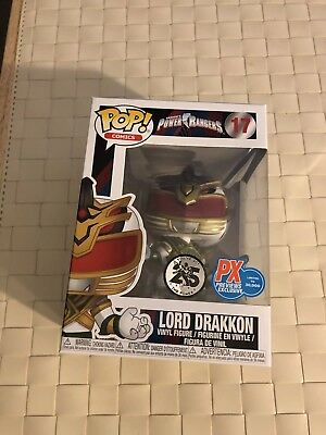 Funko POP! Power Rangers - Lord Drakkon PX Preview Exclusives #17 LE 30,000 NIB