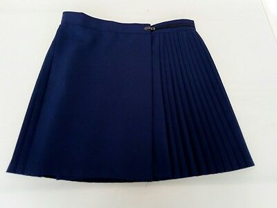 Girls School Uniform Sports Skirt. Navy Blue, size 12.