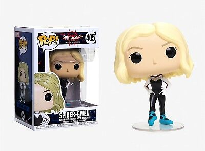 Funko Pop Spider-Man into the Spiderverse: Spider-Gwen Bobble-Head