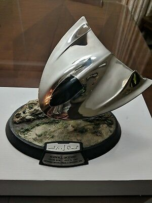 The Franklin Mint Roswell Incident Crash Site UFO Sculpture