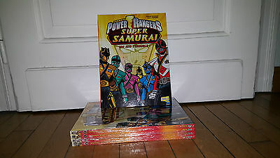 Bd,Manga Saban's Power Rangers Super Samuraï.T2.Editions Jungle. Un jeu Terrible