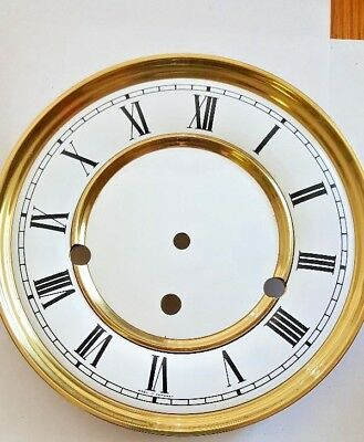 Hermle-Westminster wall clock dial for 351-1051 movement 180 mm diameter roman