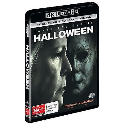 Halloween 2018 (Alt Cover) (4K Ultra HD/ Blu-Ray, 2019) (Region B) New Release