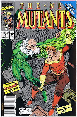 THE NEW MUTANTS 86 Marvel Comics 1990 1st cameo appearance of CABLE