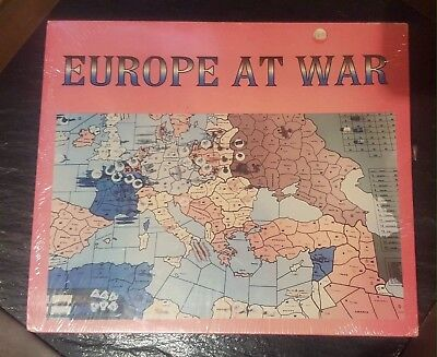 FACTORY SEALED Europe At War Xeno Games Axis & Allies Expansion Pack Unofficial