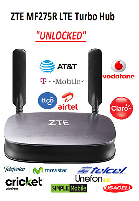 "AT&T, T-Mobile: Internet Home Base ""UNLOCKED"" ZTE MF275R"