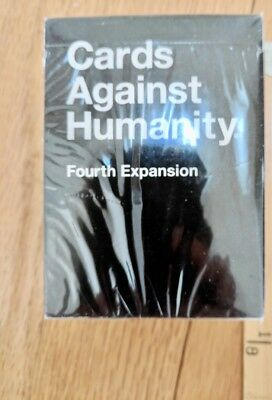game cards Against Humanity 4th Fourth Expansion Pack Premium Brand New Sealed