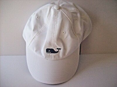 bb7f9f11a5c Vineyard Vines Whale Performance Baseball Hat. White Cap.OS.NWT. MSRP  36.00