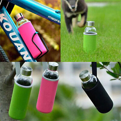 Sport Water Bottle Cover Insulated Sleeve Bag Holder Carrier Case Neoprene Pouch