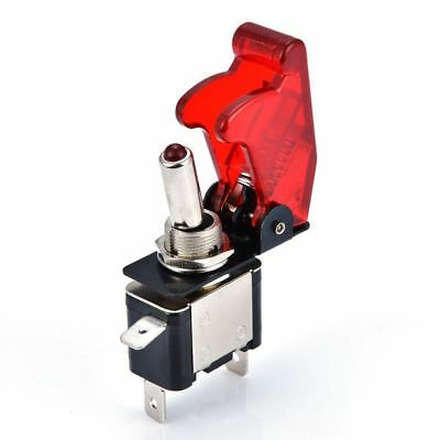 Universal 12V 20A Racing Car Vehicle ON/OFF Light Rocker Toggle Switch Cover YH