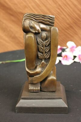 Hand Made Bronze Sculpture, signed, Salvador Dali  Picasso era Figurine