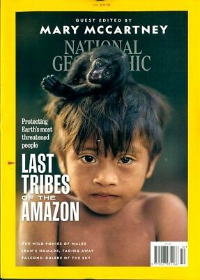 National Geographic Magazine October 2018 ~ Guest Edited By Mary Mccartney ~ New