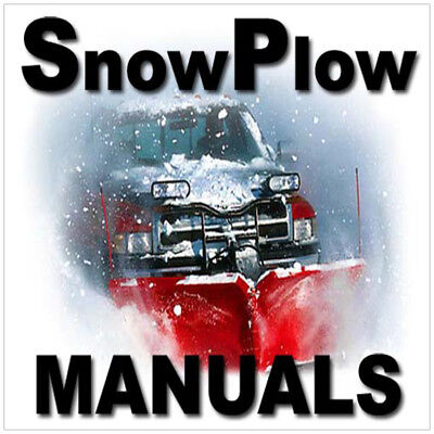 ULTIMATE SNOWPLOW Meyer & Western & Fisher Snow Plow Blade 800+ MANUALS DVD